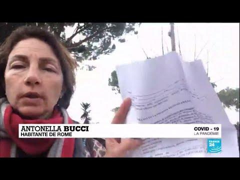 Coronavirus en Italie: les citoyens autorisés à sortir doivent fournir un document officiel