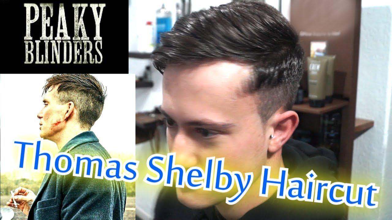 Thomas Shelby Haircut Peaky Blinders Hairstyle Barbero Mick