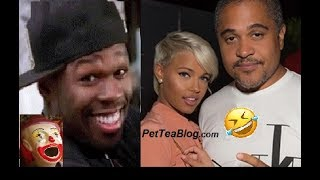 50 Cent CLOWNS Irv Gotti for Wifing Taz Angels Model 🤡🤦🤦🏿 #50Cent #IrvGotti #BEEF #TEA 🐸☕️