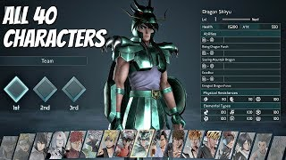 JUMP FORCE - All 40 Characters FULL ROSTER (Full Game)