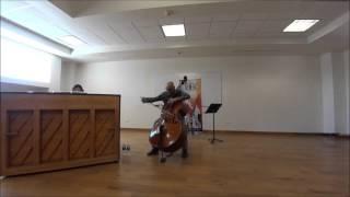 Catalin Rotaru, double bass/Wan-Ting Yu, piano - Hora Staccato, Grigoras Dinicu/Jascha Heifetz