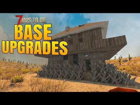 BASE UPGRADES before DAY 21 HORDE! - 7 Days to Die Alpha 16 Multiplayer Gameplay #31