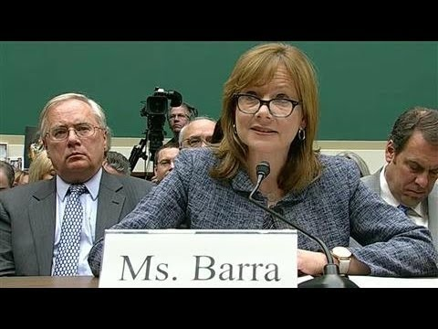 GM CEO Testifies Before Congress About Recalls