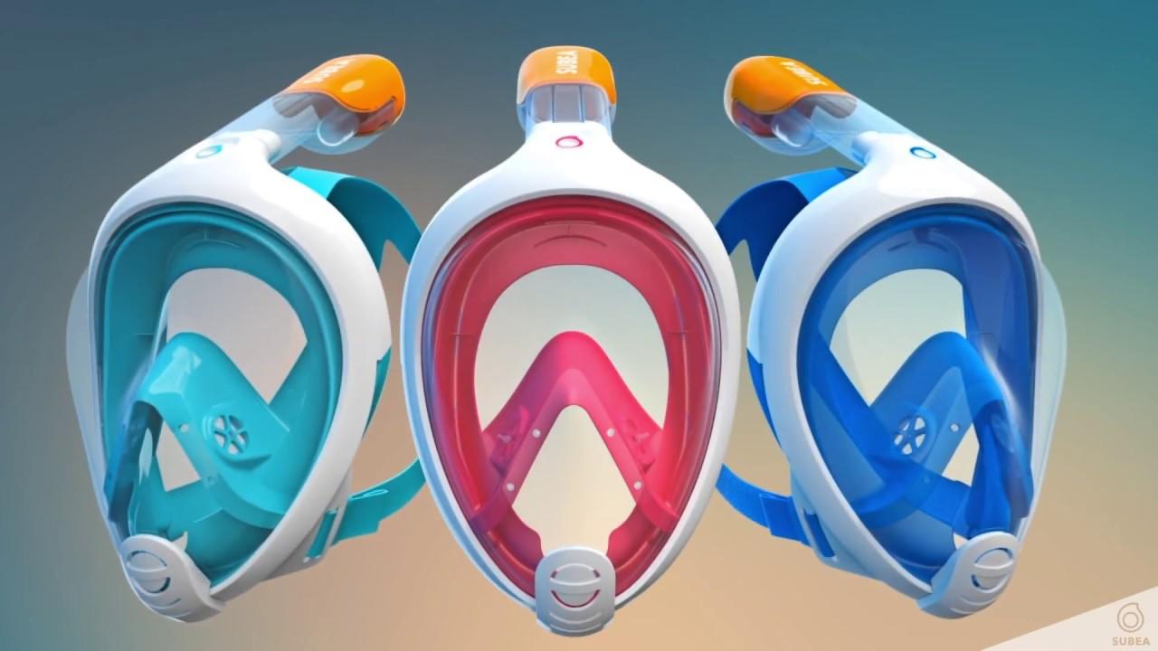 62a451907 Como funciona o sistema Dry Top da máscara Easybreath - Decathlon Brasil