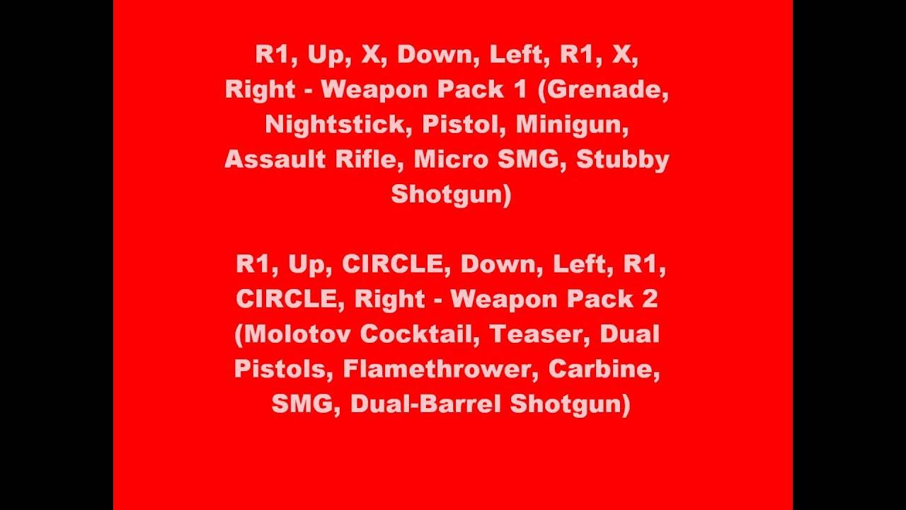 GTA Chinatown Wars ULUS10490 CWCheat PSP Cheats, Codes ...