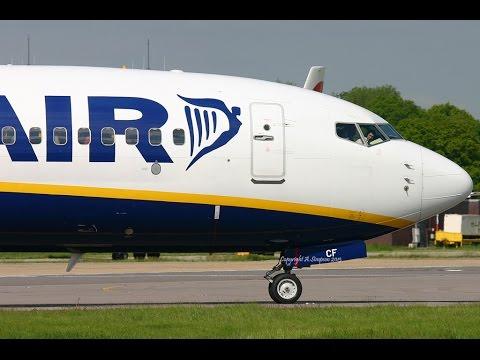 Ryanair FR8417 | Budapest - Rome-Ciampino B737-800 FULL FLIGHT