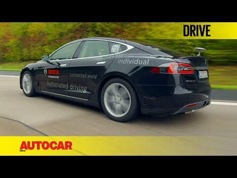 Bosch Autonomous Tesla | First Drive | Autocar India