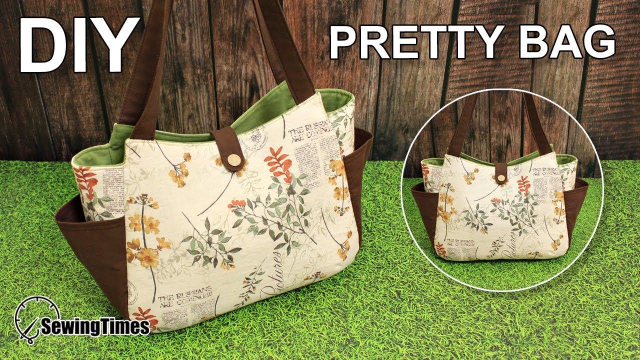 Diy Pretty Tote Bag 에코백만들기