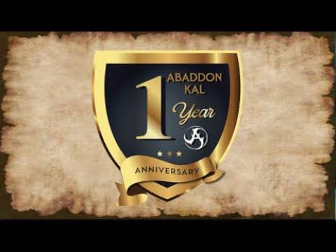 Abaddon Kal 1 Year Anniversary PURGE EVENT - Assa & Doggebi Lord