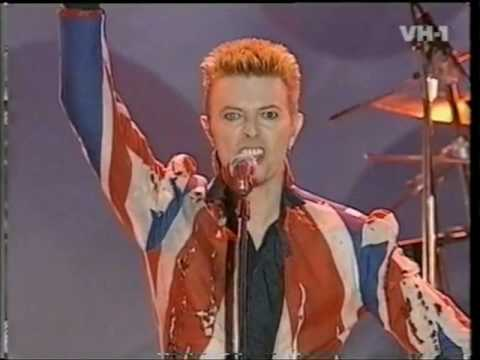 David Bowie 1996 Fashion Awards