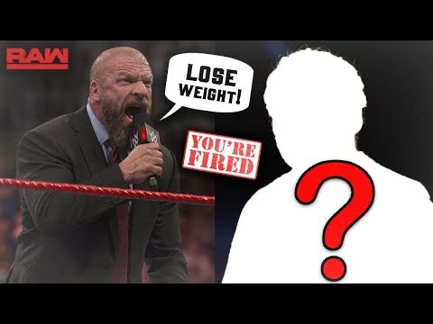 WWE SUPERSTAR FORCED TO STEP AWAY FROM WWE TO LOSE WEIGHT?!? (WWE RAW)