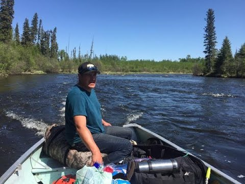 Early Summer Moose Hunt Up Canoe River