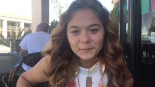 Российско-Американская школьница: интервью