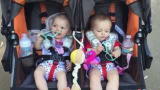 8 Month Update on Twin Baby Girls