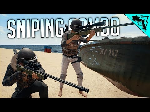 PUBG SNIPING COMBO - PlayerUnknown Battlegrounds Gameplay w/ Aculite thumbnail