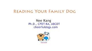 Canine Education @ Spca Behaviour Workshop: Reading Your Family Dog