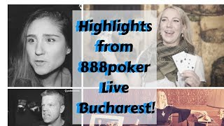 Highlights from 888poker Live in Bucharest 2019
