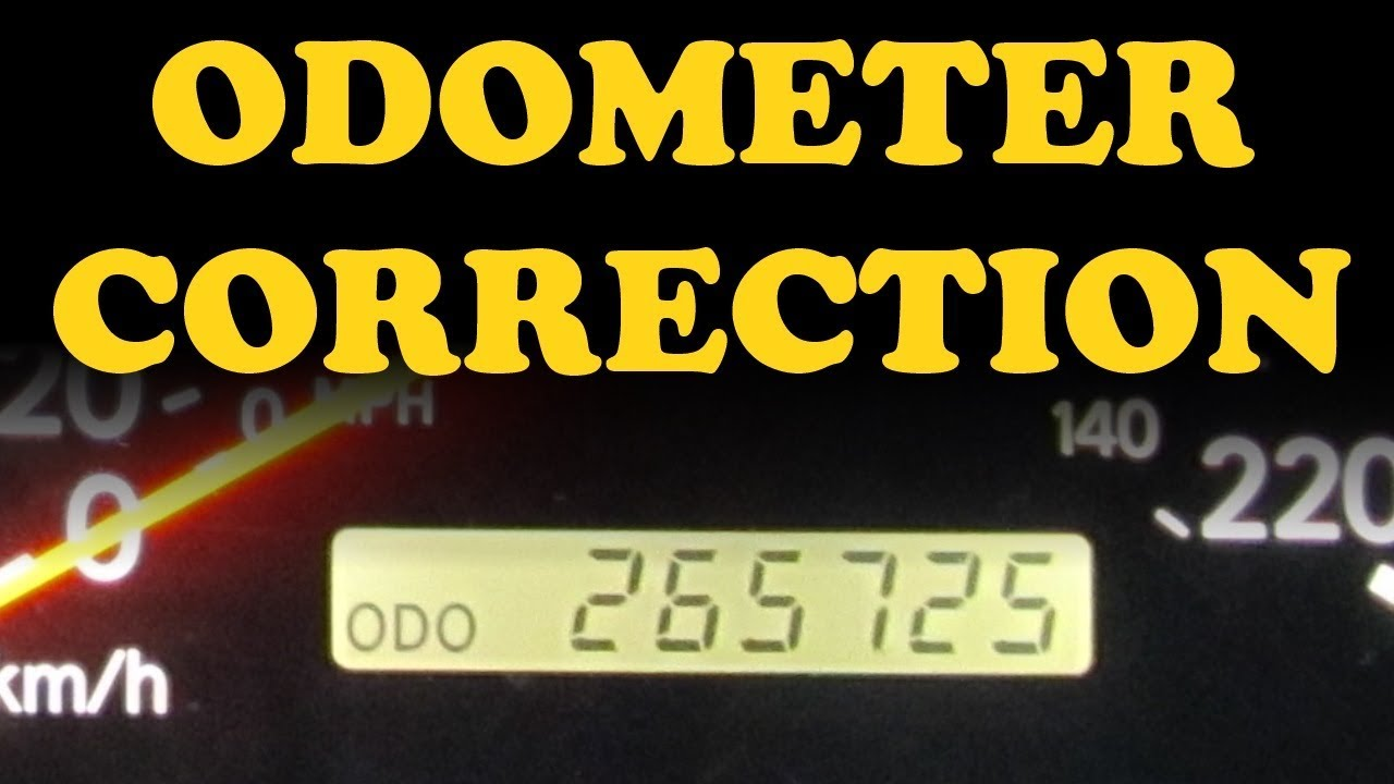 DIY: Odometer Reprogramming | Toyota Nation Forum