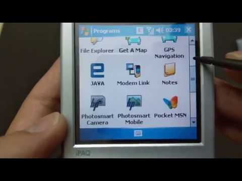 HP iPAQ hw6910 - Unbox and Review 2019 - Memory 2006 Windowphone