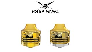Mi 2° RDA Favorito! WASP NANO 22mm