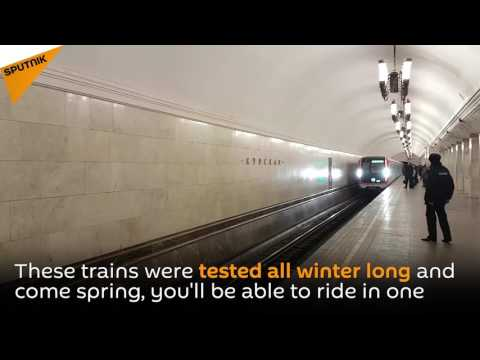 Moscow Metro Introduces New Trains