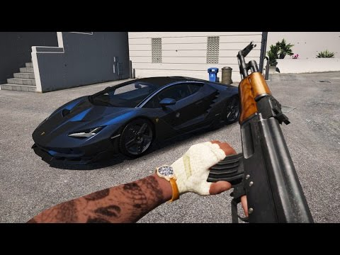GTA 5 Mods - BEST REAL LIFE GRAPHICS MOD! GTA 5 Real Graphics Mod Gameplay! (GTA 5 Mods Gameplay)