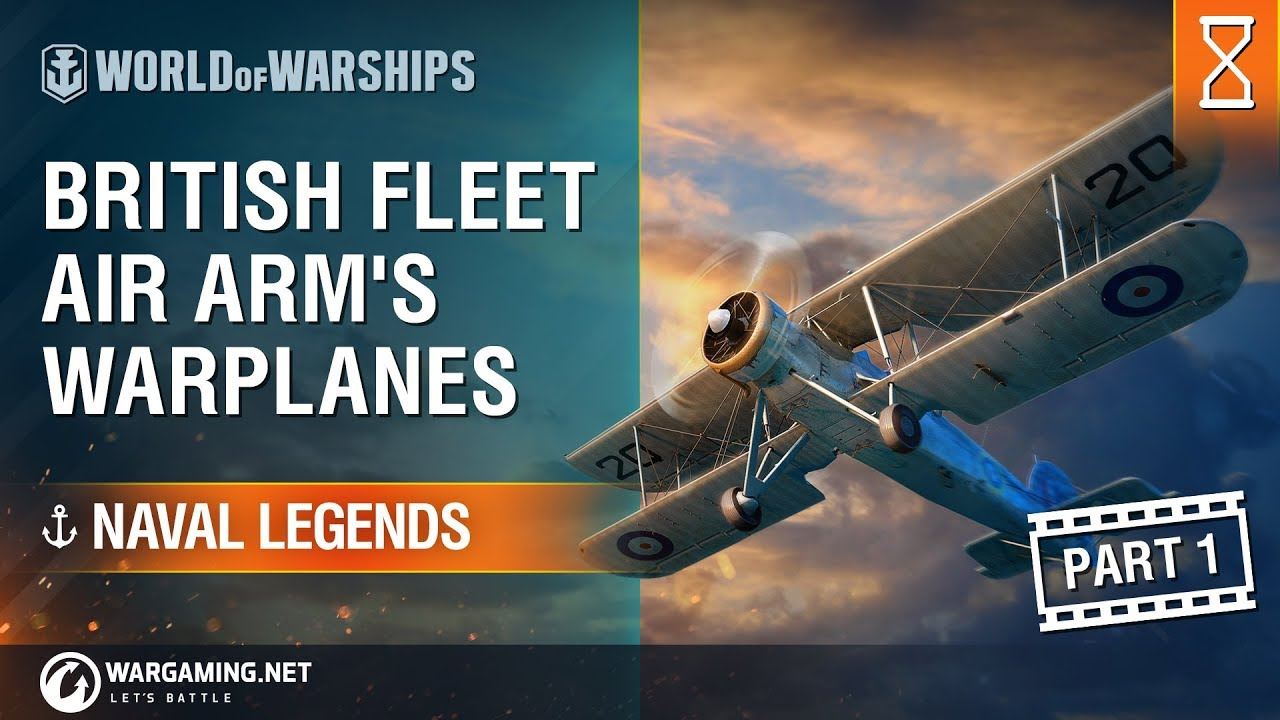 World of Warships – Naval Legends: Aviation Part 1