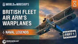 World of Warships - Naval Legends: Aviation Part 1