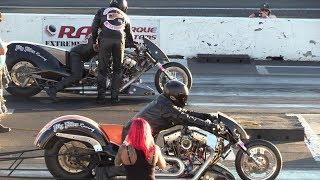 Top Fuel Harley - drag racing