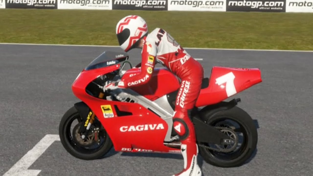 Piloto Eddie Lawson em Phillip Island - MotoGP 14 Gameplay PS4 - YouTube