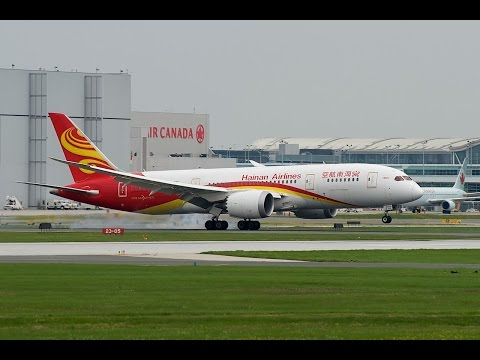 Hainan Airlines HU 498 - Chicago O'Hare (ORD) → Beijing Capital (PEK)(Part 1 - 7/21/2015)