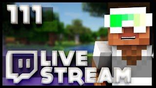 Minecraft Livestream #111 - Ender Dragon Fight w/ Fans