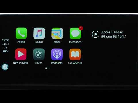 Switch Between Apple CarPlay And The iDrive System | BMW Genius How-To