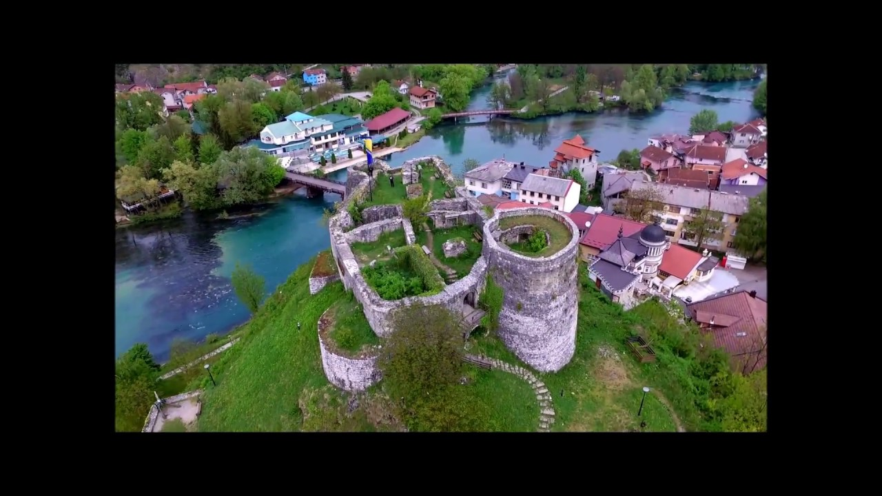 Bosanska Krupa iz zraka - YouTube