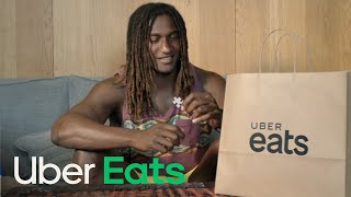 Nic Naitanui - Tonight I'll be Eating... | Uber Eats