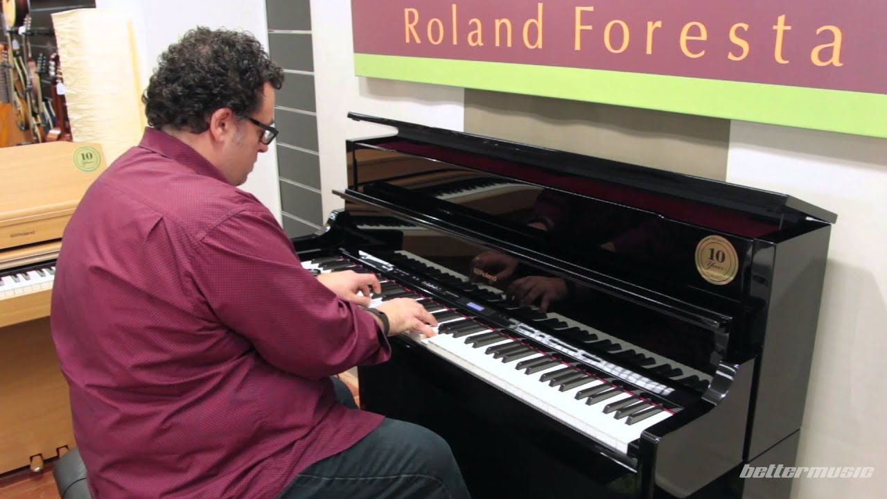 roland lx hp series digital pianos sounds demonstration lx 17 better music youtube. Black Bedroom Furniture Sets. Home Design Ideas