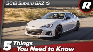 The 2018 Subaru BRZ tS has all kinds of track goodies, but are they enough? thumbnail