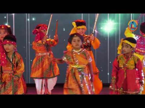 DANDIA DANCE PERFORMANCE OF LITTLE CASTLE,PRESCHOOL,MANGAF,KUWAIT