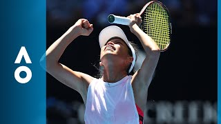 Garbińe Muguruza v Hsieh Su-Wei match highlights (2R) | Australian Open 2018