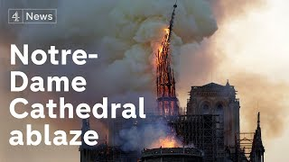 #Notre Dame Cathedral Fire