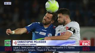 Video Gol Pertandingan Strasbourg vs Amiens