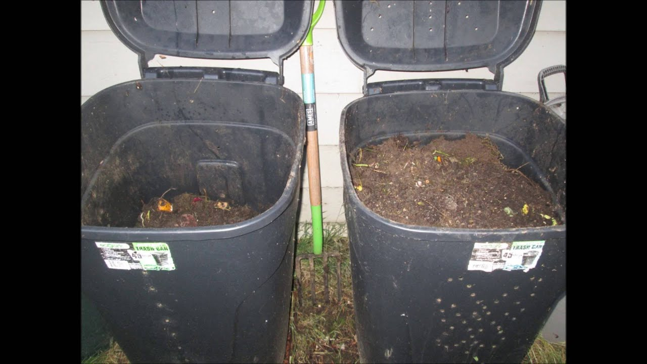 how to making a compost bin for your garden for only about 20