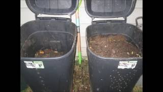 How to: Making a compost bin for your garden for only about $20!