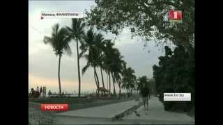 На Филиппины надвигается мощный тайфун «Майсак»