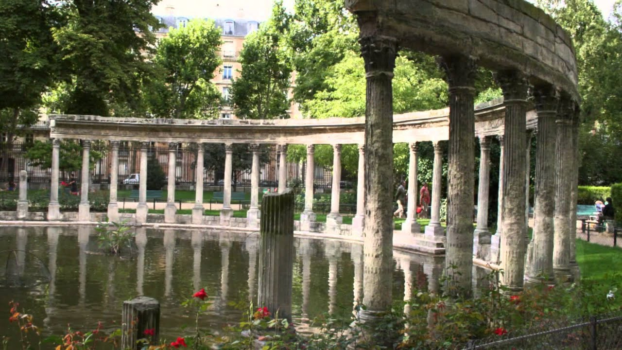 Jardines de monceau en paris hd 3d arte y jardiner a youtube for Ecran de jardin belgique
