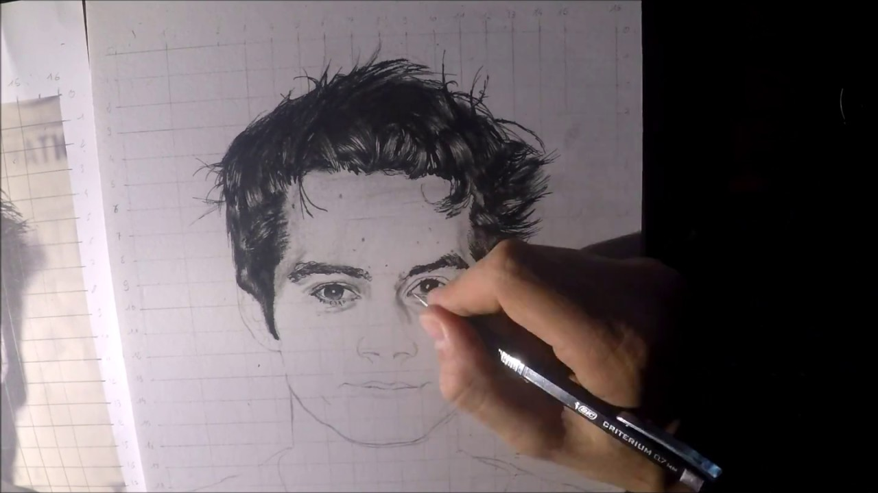Dylan Obrien Drawing Youtube