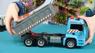 Demo - Air Pump Action Truck / Ciężarówka Wywrotka - Man V3 - Dickie Toys - www.MegaDyskont.pl