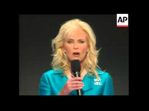 Cindy McCain addresses the Republican convention