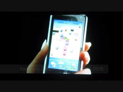Samsung OMNIA SGH-i900 Launch Video