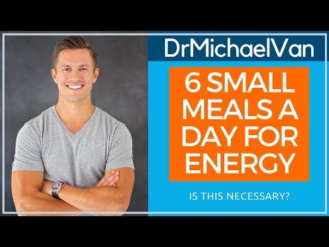 6 Small Meals a Day is Critical For Energy!